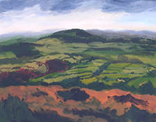 View Across the Tamar Valley 1, 2006