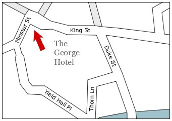 A: The Map of the George Hotel and Art Information.