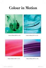Colour In Motion 2269, 2014, 5382, 5163 (all 2012)