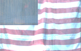 Starched USA Flag